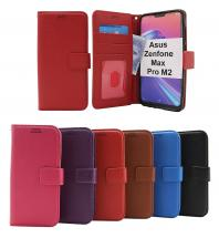 New Standcase Wallet Asus Zenfone Max Pro M2 (ZB631KL)