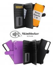 Skimblocker XL Magnet Wallet Sony Xperia 1 III (XQ-BC52)