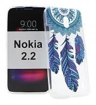 TPU Designdeksel Nokia 2.2