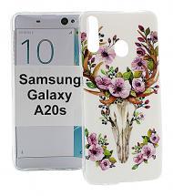 TPU Designdeksel Samsung Galaxy A20s (A207F/DS)