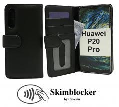 Skimblocker Lommebok-etui Huawei P20 Pro