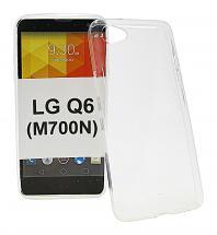 Ultra Thin TPU Deksel LG Q6 (M700N)