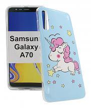 TPU Designdeksel Samsung Galaxy A70 (A705F/DS)