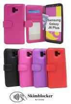 Skimblocker Lommebok-etui Samsung Galaxy J6 Plus (J610FN/DS)