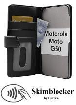 Skimblocker Lommebok-etui Motorola Moto G50