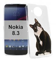 TPU Designdeksel Nokia 8.3