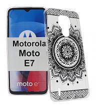 TPU Designdeksel Motorola Moto E7