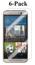 6-pakning Skjermbeskyttelse HTC One A9