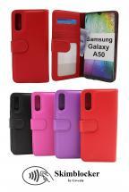 Skimblocker Lommebok-etui Samsung Galaxy A50 (A505FN/DS)