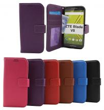 New Standcase Wallet ZTE Blade V8