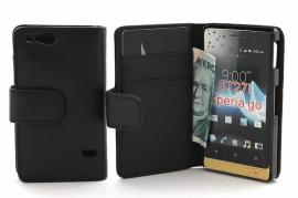 Lommebok-etui Sony Xperia Go ST27i