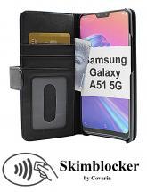 Skimblocker Lommebok-etui Samsung Galaxy A51 5G (A516B/DS)