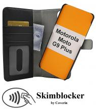 Skimblocker Magnet Wallet Motorola Moto G9 Plus