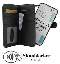 Skimblocker XL Magnet Wallet iPhone 12 Pro Max (6.7)