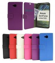 Standcase Wallet Asus ZenFone Live 5.5 (ZB553KL)