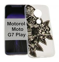 TPU Designdeksel Motorola Moto G7 Play