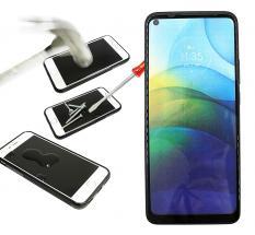 Full Frame Skjermbeskyttelse av glass Motorola Moto G9 Power