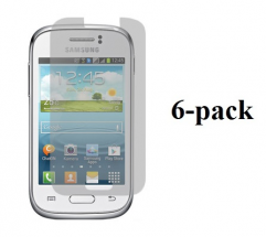 6-pakning Skjermbeskyttelse Samsung Galaxy Young