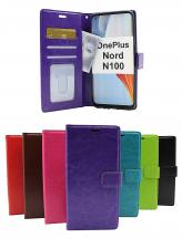 Crazy Horse Wallet OnePlus Nord N100