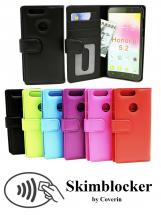 Skimblocker Lommebok-etui Huawei Honor 8