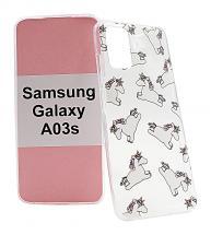 TPU Designdeksel Samsung Galaxy A03s (SM-A037G)