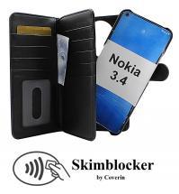 Skimblocker XL Magnet Wallet Nokia 3.4