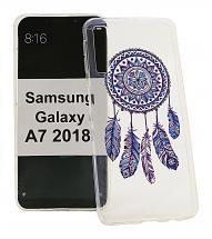 TPU Designdeksel Samsung Galaxy A7 2018 (A750FN/DS)