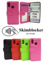 Skimblocker Lommebok-etui Huawei P20 Lite