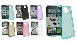 TPU-deksel for Moto C Plus