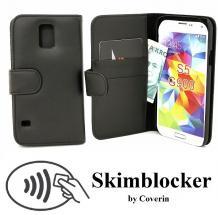 Skimblocker Lommebok-etui Samsung Galaxy S5 (G900F/G903F)