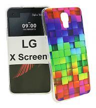 TPU Designdeksel LG X Screen (K500N)