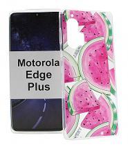 TPU Designdeksel Motorola Moto Edge Plus