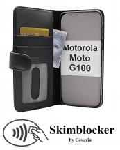 Skimblocker Lommebok-etui Motorola Moto G100