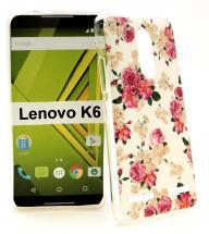 TPU Designdeksel Lenovo K6