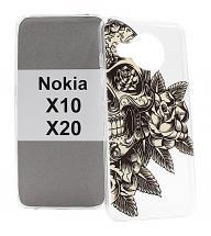 TPU Designdeksel Nokia X10 / Nokia X20