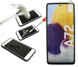 Full Frame Skjermbeskyttelse av glass Samsung Galaxy A72 (A725F/DS)