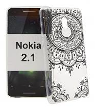 TPU Designdeksel Nokia 2.1