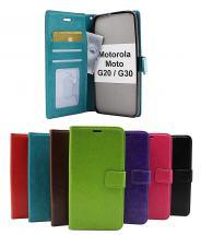 Crazy Horse Wallet Motorola Moto G20 / Moto G30