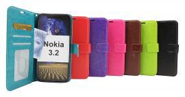 Crazy Horse Wallet Nokia 3.2