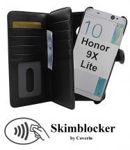 Skimblocker XL Magnet Wallet Huawei Honor 9X Lite