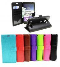 Crazy Horse Wallet Lenovo Motorola Moto Z Play