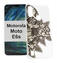 TPU Designdeksel Motorola Moto E6s