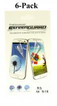 6-pakning Skjermbeskyttelse Huawei Y6 Pro (TIT-L01)
