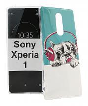 TPU Designdeksel Sony Xperia 1 (J9110)