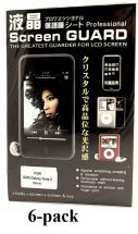 6-pakning Skjermbeskyttelse Samsung Galaxy Note 3 (n9005)