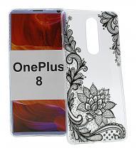TPU Designdeksel OnePlus 8