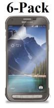 6-pakning Skjermbeskyttelse Samsung Galaxy S5 Active (SM-G870)