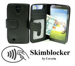 Skimblocker Lommebok-etui Samsung Galaxy S4 (i9500)