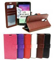Crazy Horse Wallet LG K10 2017 (M250N)