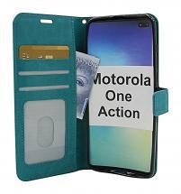 Crazy Horse Wallet Motorola One Action
